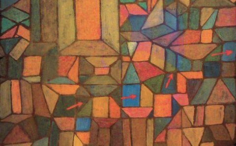 Le chemin de la citadelle - Paul Klee