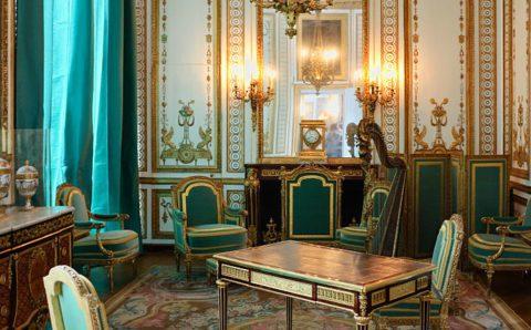 Cabinet dore Marie-Antoinette Versailles